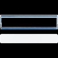 JUNG Крышка из оргстекла для надписи 13?54 мм; прозрачная
