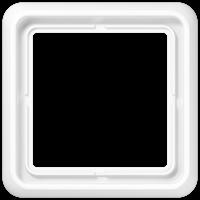 JUNG Рамка для вертикальной и горизонтальной установки ударопрочная, 2-кратная; белая