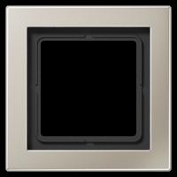JUNG Рамка 1-кратная; благородная сталь