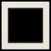 JUNG Рамка 1-кратная; слоновая кость