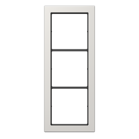 JUNG Рамка 3-кратная; светло-серая