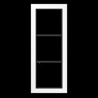 JUNG Рамка 3-кратная; белая