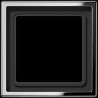 JUNG Рамка 1-кратная; полированный хром
