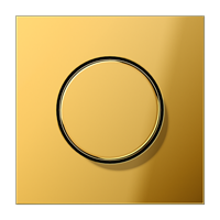 JUNG накладка роторного механизма имитация золота