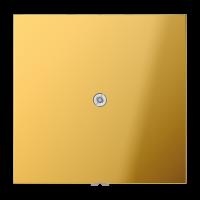 JUNG Подсоединитель провода с разгрузкой натяжения; металл цвета золота