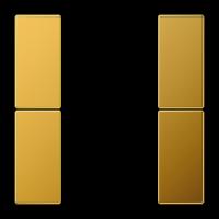 JUNG комплект накладок 2гр золото