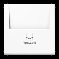 JUNG Накладка карточного выключателя, белая
