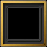 JUNG Рамка 1-кратная; золото