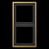 JUNG Рамка 2-кратная; золото
