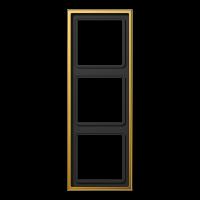 JUNG Рамка 3-кратная; золото