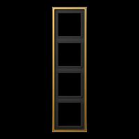 JUNG Рамка 4-кратная; золото