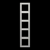 JUNG Рамка 5-кратная; светло-серая