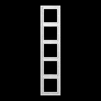 JUNG Рамка 5-кратная; белая