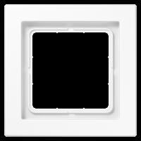 JUNG Рамка 1-кратная; белая, ударопрочная