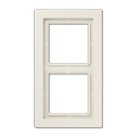JUNG Рамка 2-кратная;чёрная