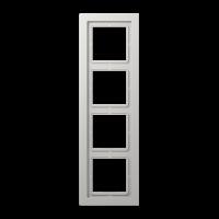 JUNG Рамка 4-кратная; светло-серая