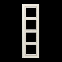 JUNG Рамка 4-кратная; слоновая кость