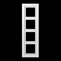 JUNG Рамка 4-кратная; белая