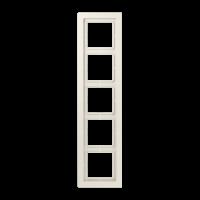JUNG Рамка 5-кратная; слоновая кость