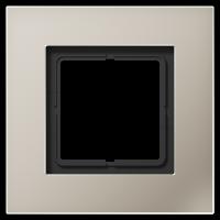 JUNG Рамка для серии LS-Plus однократная; благородная сталь