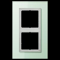 JUNG Рамка для серии LS-Plus 2-кратная; стекло