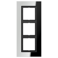 JUNG Рамка для серии LS-Plus 3-кратная; полированный хром