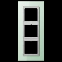 JUNG Рамка для серии LS-Plus 3-кратная; стекло