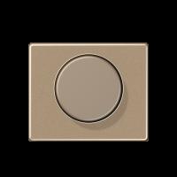 JUNG накладка роторного механизма золото-бронза