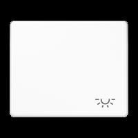 """JUNG Клавиша для выключателя с символом """"освещение""""; белая"""