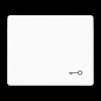 """JUNG Клавиша для выключателя с символом """"ключ""""; белая"""