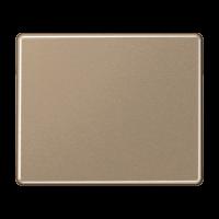 JUNG Клавиши для сдвоенных кнопочных выключателей, выключателей и кнопок; золотая бронза