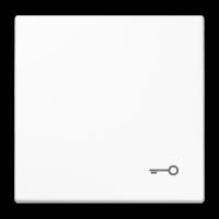 JUNG Клавиши для сдвоенного выключателя с подсветкой; черные