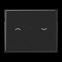 JUNG Клавиша для выключателя управления жалюзи; черные
