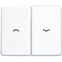 JUNG Клавиша для выключателя управления жалюзи; белые