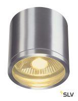 ROX CEILING светильник потолочный IP44 для лампы ES111 50Вт макс., матированный алюминий (ex 229756)