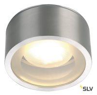 ROX GX53 C светильник потолочный IP44 для лампы GX53 11Вт макс., матированный алюминий (ex 230726)