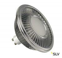 LED QPAR111 GU10 источник света 230В, 13Вт, 4000K, 1100лм, 140°, димм., алюм. корпус (ex 551654)