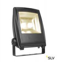 FLOOD LIGHT 32 светильник IP65 81Вт с LED 3000К, 6300лм, 90°, кабель 2м с вилкой, черный (ex 231173)
