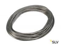 TENSEO, тросик в изоляции, сечение 6 кв.мм, 25А макс., 48В макс., 20 метров, прозрачный