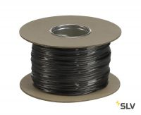 TENSEO, тросик в изоляции, сечение 4 кв.мм, 25А макс., 48В макс., черный