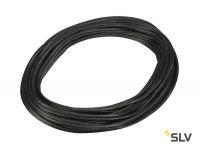 TENSEO, тросик в изоляции, сечение 6 кв.мм, 25А макс., 48В макс., 20 метров, черный