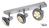 ASTO TRIPLE светильник накладной для 3-х ламп GU10 по 75Вт макс., матированный алюминий
