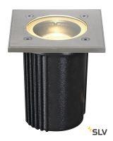 DASAR® EXACT 116 SQUARE светильник встраиваемый IP67 для лампы GU10 35Вт макс., сталь