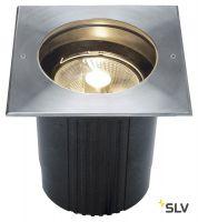 DASAR® 215 SQUARE светильник встраиваемый IP67 для лампы ES111 75Вт макс., сталь