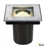DASAR® 70 SQUARE светильник встраиваемый IP67 для лампы GU10 35Вт макс., сталь