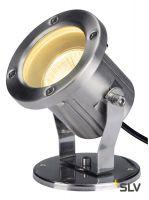 NAUTILUS 10 SPOT светильник IP55 для лампы GU10 25Вт макс., кабель 1.5м без вилки, сталь