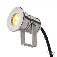DASAR® PROJECTOR LV светильник IP68 12В/24В 7В с LED 3000К, 360лм, 40°, сталь